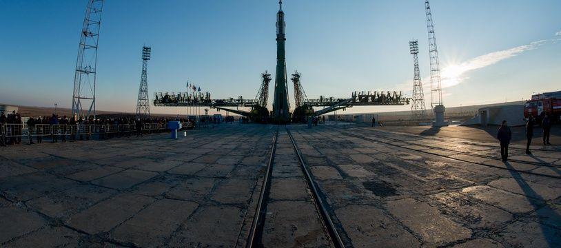 La fusée Soyouz à Baikonour, le 14 novembre 2016.