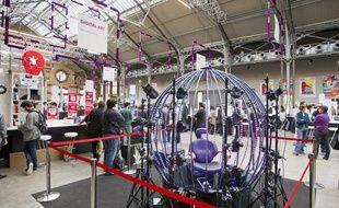 Futur en Seine s'installe au 104 jusqu'à dimanche 16 juin et présente des innovations.