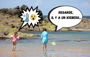 Les températures de la mer sont particulièrement froides en ce printemps en Bretagne. Illustration d'une plage, ici à Saint-Malo.
