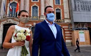 Un mariage à Toulouse en 2020.