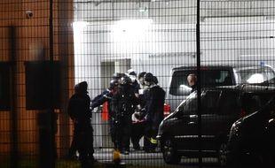 Le RAID est intervenu à la prison de Condé-sur-Sarthe où s'était retranché un détenu radicalisé, le 5 mars 2019.