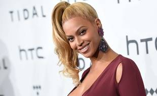Beyoncé à l'événement Tidal à New York le 20 octobre 2015
