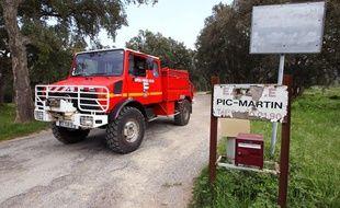 Les recherches pour retrouver Xavier Dupont de Ligonnès, le 2 mai 2013, près du Cannet-des-Maures (Var).