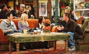 Les acteurs de la série «Friends».