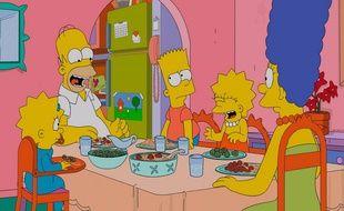 La famille Simpson au grand complet.