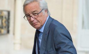 Le ministre du Travail, François Rebsamen, le 18 juin 2014 à l'Elysée.