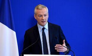 Le ministre de l'Economie Bruno Le Maire, le 11 janvier 2017.