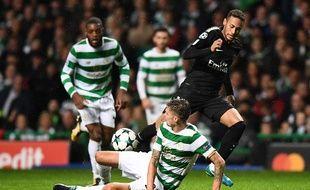 Neymar s'était amusé au Celtic Park.