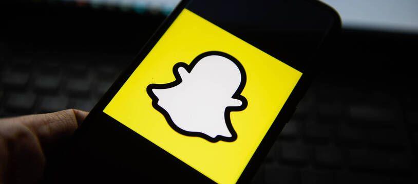 Le réseau social Snapchat.