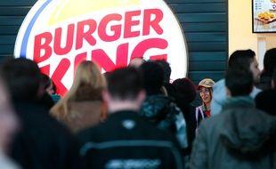 Marignane le 8 janvier 2013 - Burger King a ouvert son premier restaurant en France a l'aéroport de Marignane Marseille Provence