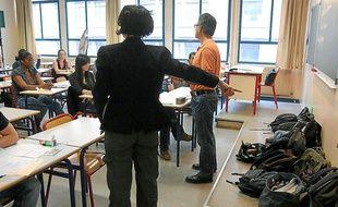 Les surveillants seront là pour dissuader les élèves de tricher.