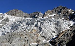 Selon les scientifiques, la plupart des glaciers situés en dessous de 3.500 mètres, auront disparu en 2100. (illustration)
