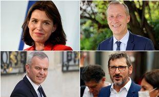 Christelle Morançais, Guillaume Garot, François de Rugy et Matthieu Orphelin se disputent, avec le RN, la présidence de la région Pays-de-la-Loire.