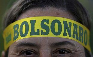 Un partisan de Jair Bolsonaro, le dimanche 28 octobre 2018.
