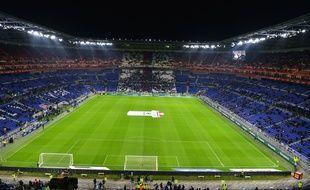 Le Parc OL, ici en février, avant un match de Ligue 1 contre le PSG.