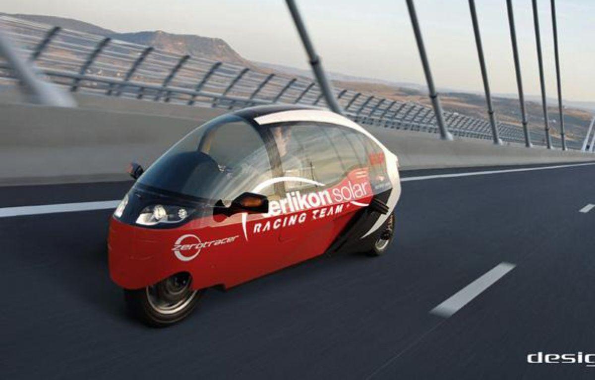 Le Zerotracer, un des véhicules qui participe au Zero Race, tour du monde en 80 jours sans émissions de carbone. – www.zero-race.com