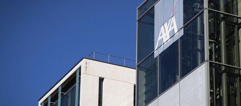Les bureaux d'Axa à Nanterre.