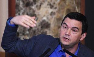 L'économiste Thomas Piketty à Tokyo le 31 janvier 2015