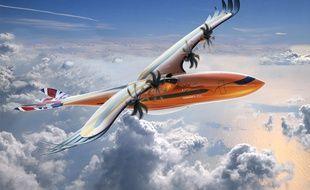 Le nouveau concept d'avion hybride-électrique développé par Airbus s'inspire de l'oiseau de proie.