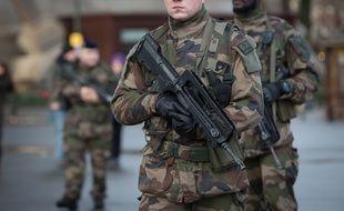 Une patrouille Vigipirate (photo d'illustration).