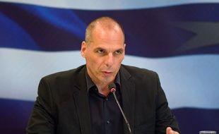 Yanis Varoufakis démissionne de son poste de ministre des Finances, le 6 juillet 2015.