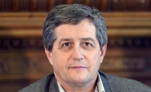 Le secrétaire général de la FNSEA Dominique Barrau le 27 novembre 2012 à Paris.