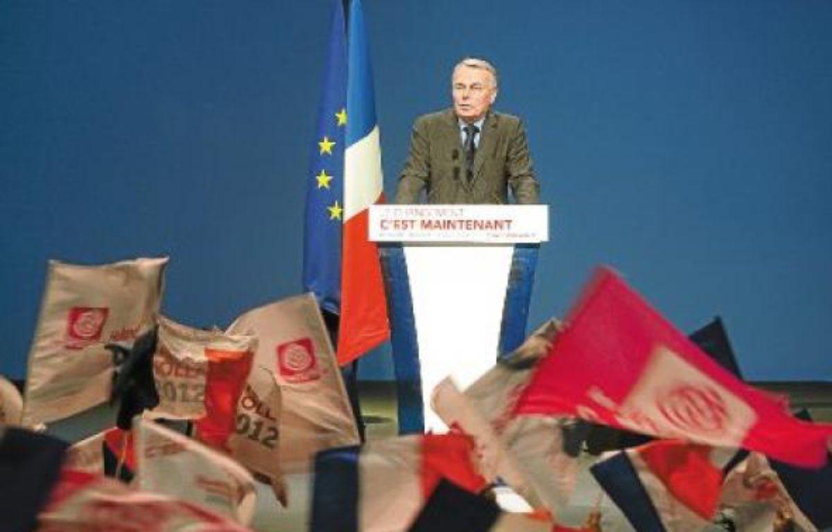Jean-Marc Ayrault au meeting de François Hollande à Marseille, le 14 mars. –  p. magnien / 20 minutes
