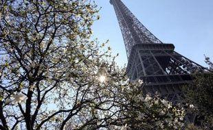La Tour Eiffel le 6 avril 2015 à Paris