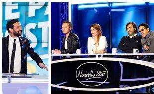 Cyril Hanouna dans «Touche pas à mon poste» et les jurés de «Nouvelle Star».