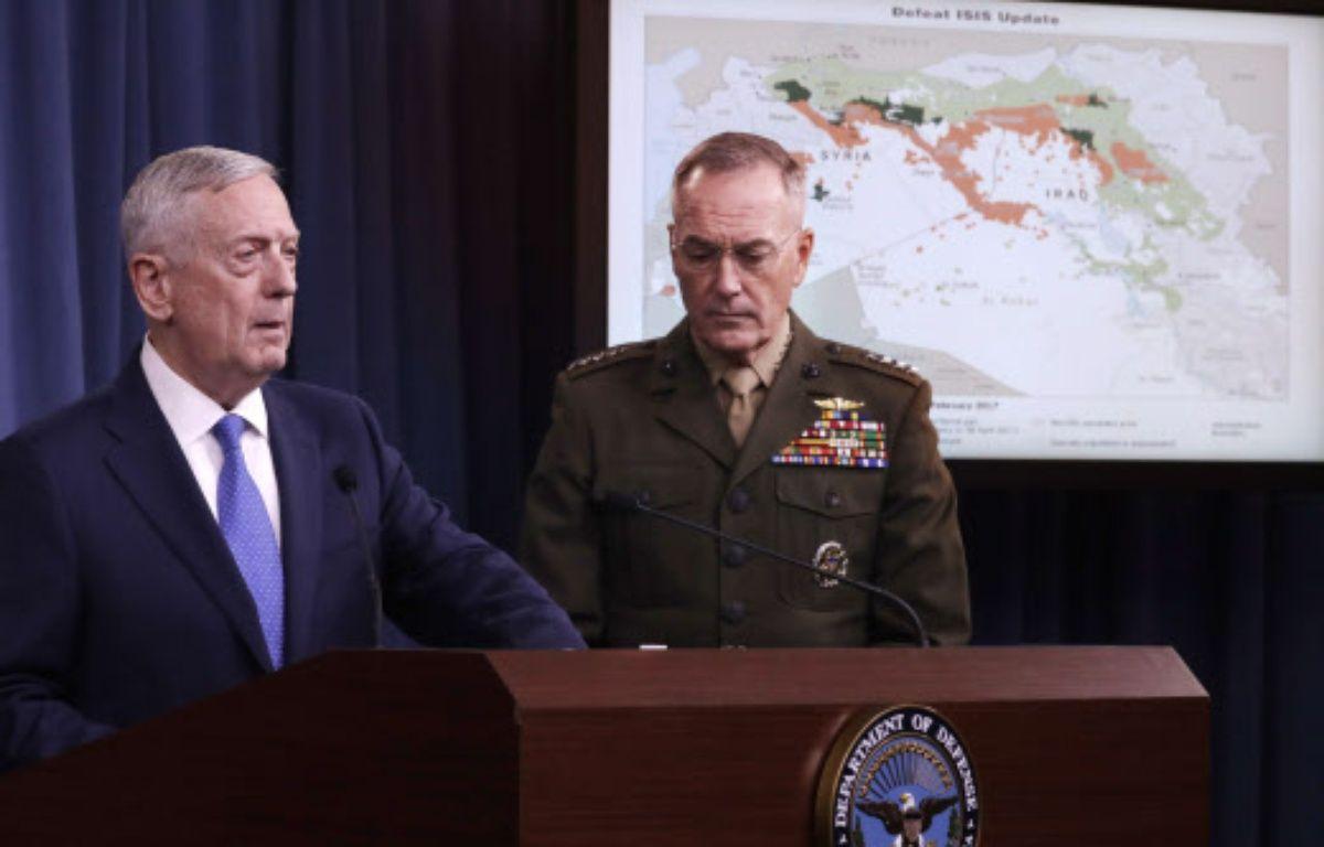 Le secrétaire américain à la Défense, Jim Mattis – Jacquelyn Martin/AP/SIPA