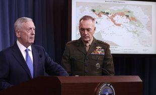 Le secrétaire américain à la Défense, Jim Mattis