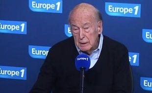 ValéryGiscard d'Estaing ce jeudi 8 mai 2014sur Europe 1
