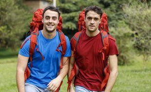 Pierre-Louis et Arnaud, candidats de la saison 14 de Pekin Express.
