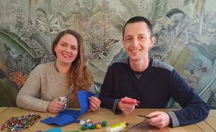 Marion Billier et Charles d'Auber, créateurs de la Start-up You Do It