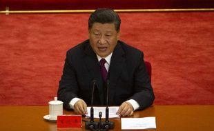 Un des (nombreux) discours de Xi Jinping