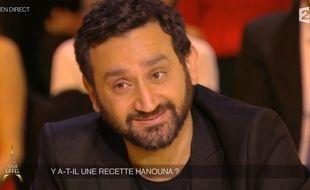 Cyril Hanouna dans Un soir à la Tour Eiffel, mercredi 19 novembre 2014.