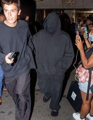 Kanye West, le 13 septembre, à New York, au gala du Met.