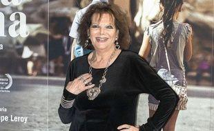 Claudia Cardinale à Rome le 18 avril 2017