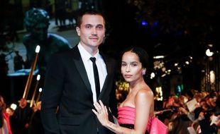 Les jeunes mariés Karl Glusman et Zoë Kravitz