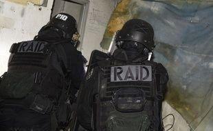 Intervention de policiers du Raid (illustration).