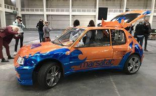 Cette Peugeot 205 GTI de 1986 sera le totem de la 21e édition du festival Marsatac à Marseille.