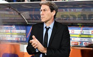 Rudi Garcia à Montpellier le 4 novembre 2016