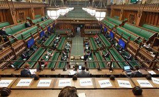 La salle de réunion de la Chambre des communes britannique. (illustration)