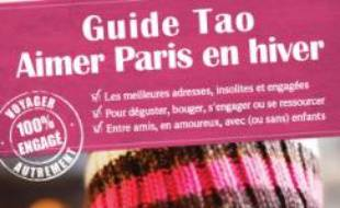 "Le guide Viatao ""Aimer Paris en hiver""."