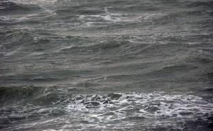 Le bras de mer qui sépare la Grande-Bretagne de l'Europe continentale, à Boulogne-sur-Mer