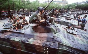 Le 14-Juillet 1994, les chars allemands ont fait leur retour sur les Champs