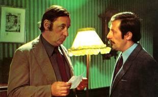 Philippe Noiret et Jean Rochefort dans L'Horloger de Saint-Paul.
