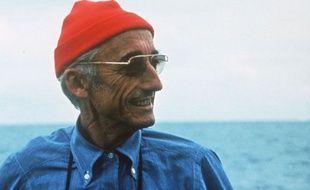 Le commandant Cousteau