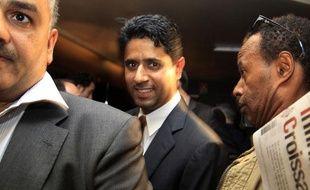 Le nouveau boss du PSG, Nasser Al-Khelaïfi, le 23 juin 2011