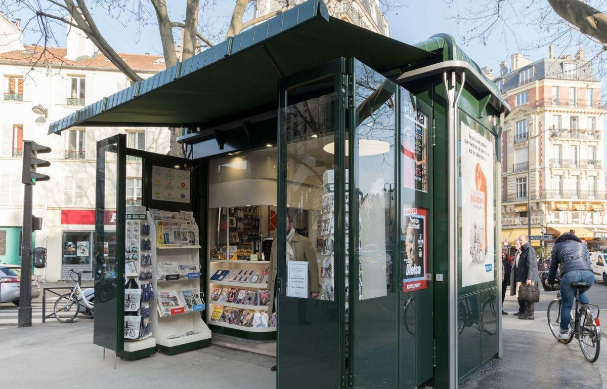 Le renouvellement des 409 kiosques à journaux de la capitale s'échelonnera jusqu'en 2019 (Illustration). – M.ASTAR/SIPA